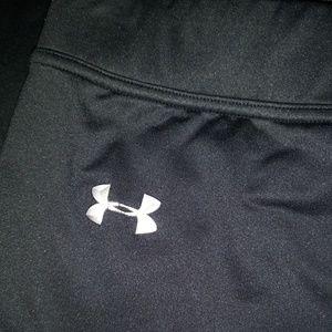 L New Under Armour Black Cold Gear Leggings Pants